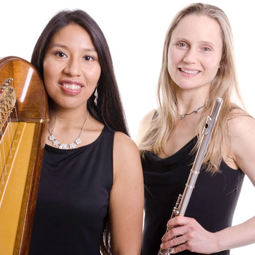 Flute & Harp Duo | Rachel and Ruby