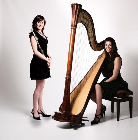 Harp & Flute | Camilla and Eliza