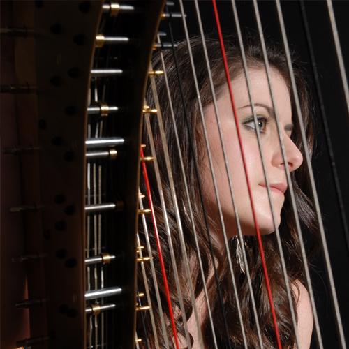 Harpist | Rebecca