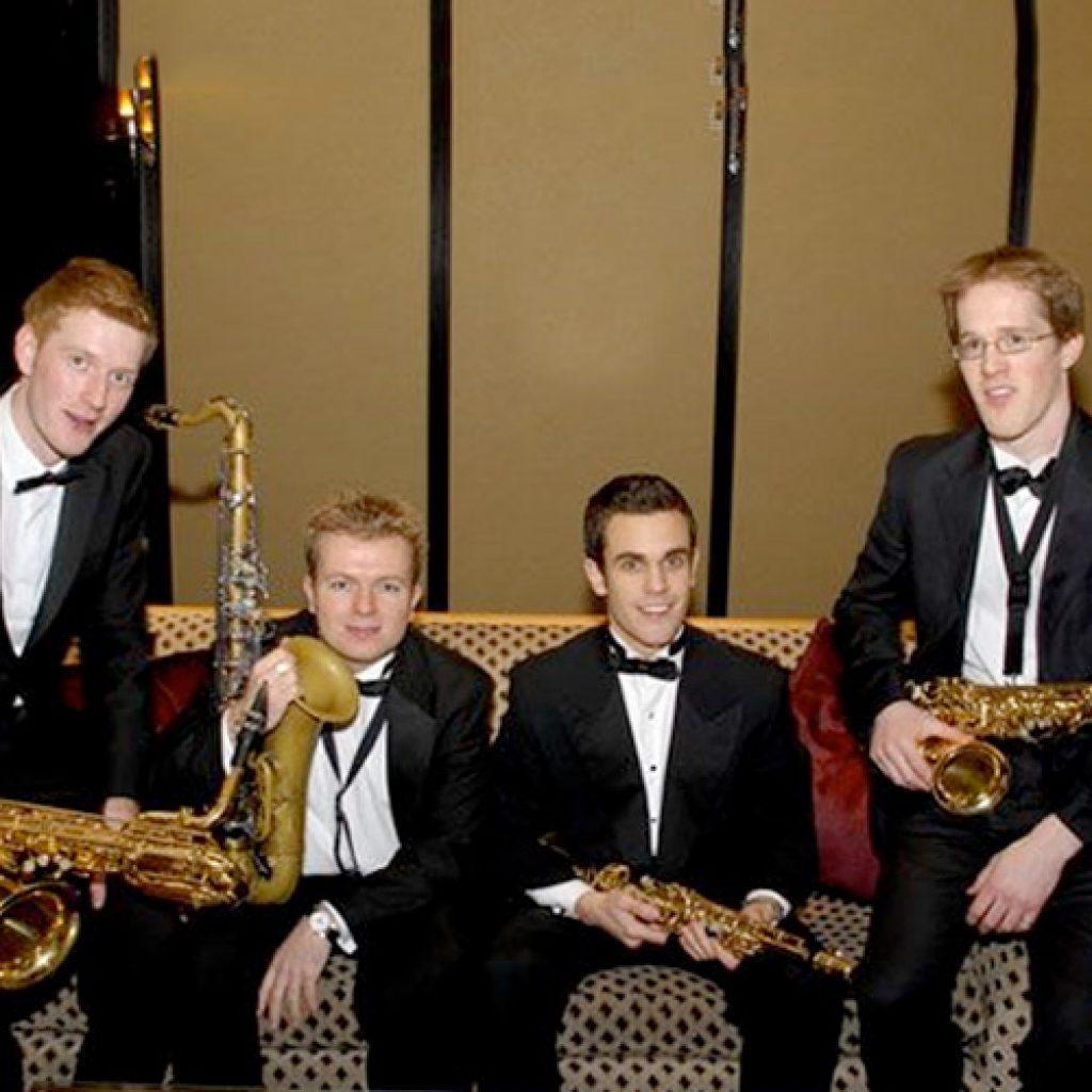 London Saxidentals | Sax Quartet