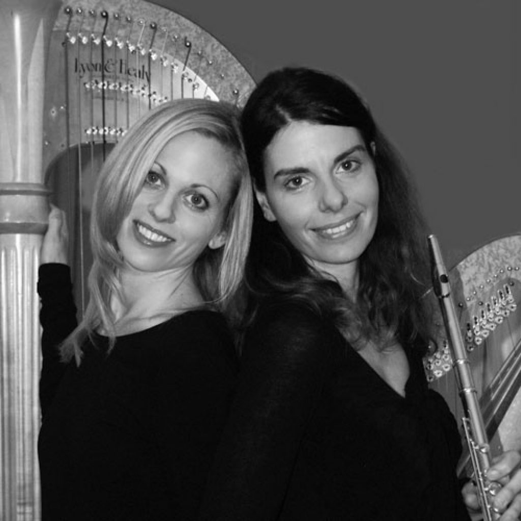 Siobhan and Klio | Flute & Harp
