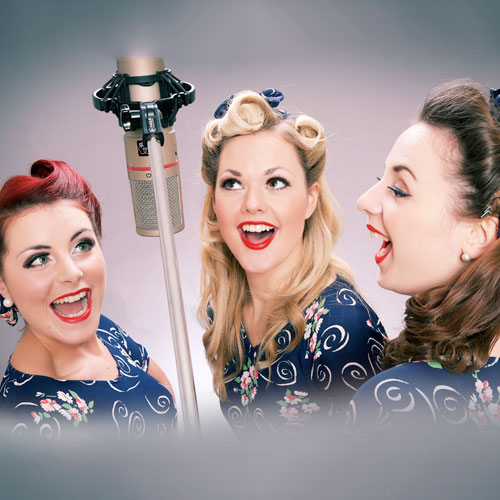 The Swingin' Belles | 1940s Act