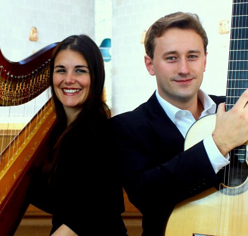 Mayfair | Harp & Guitar Duo