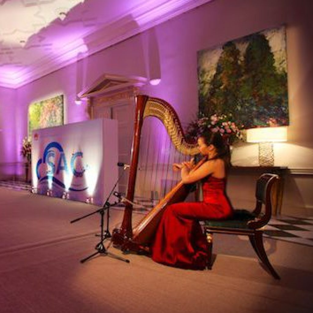 Wedding Harpists join Allegro Arts