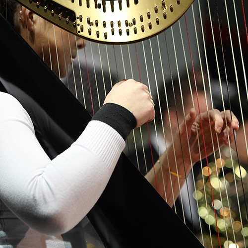 Harpists For Events in London