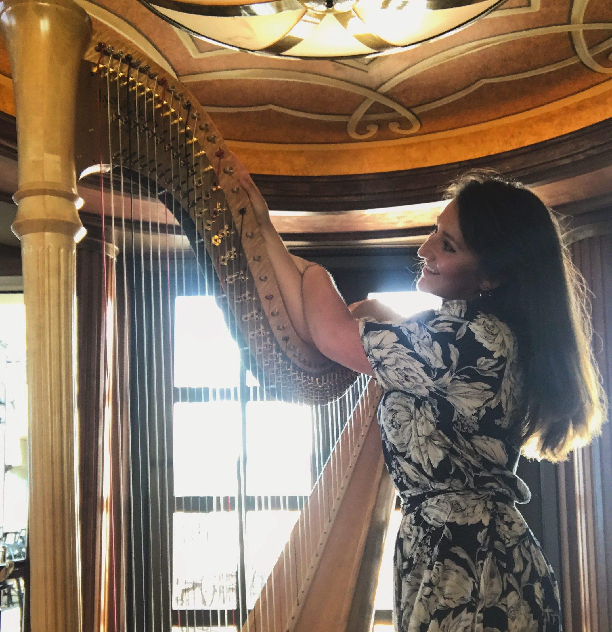 Harpist | Rachel Clemency