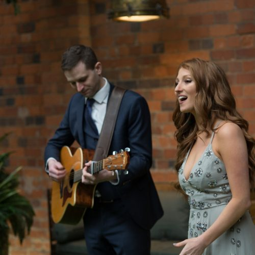 Singer and Acoustic Guitar | Allegro Duo