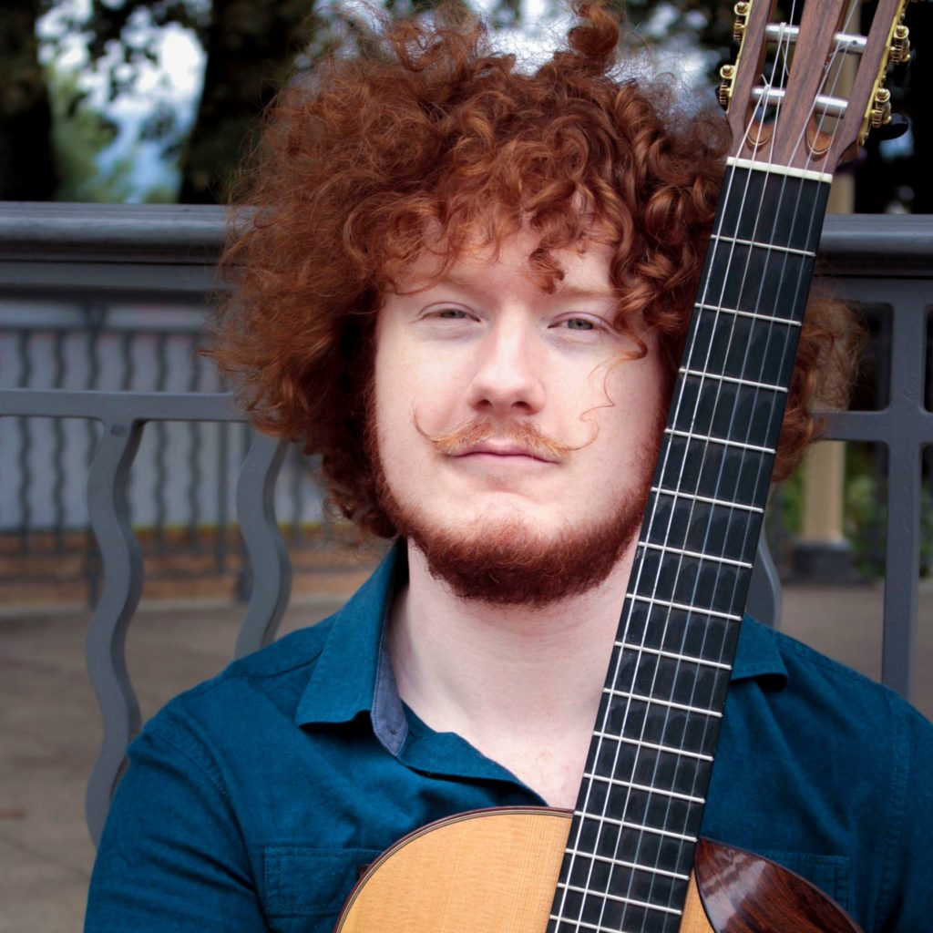 A Most Unusual Young Guitarist
